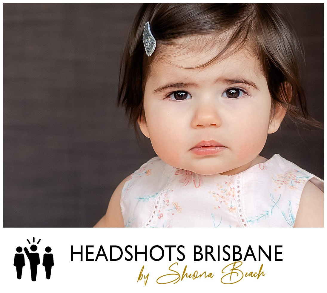 Professional baby actor portrait photographer on Brisbane's north side.