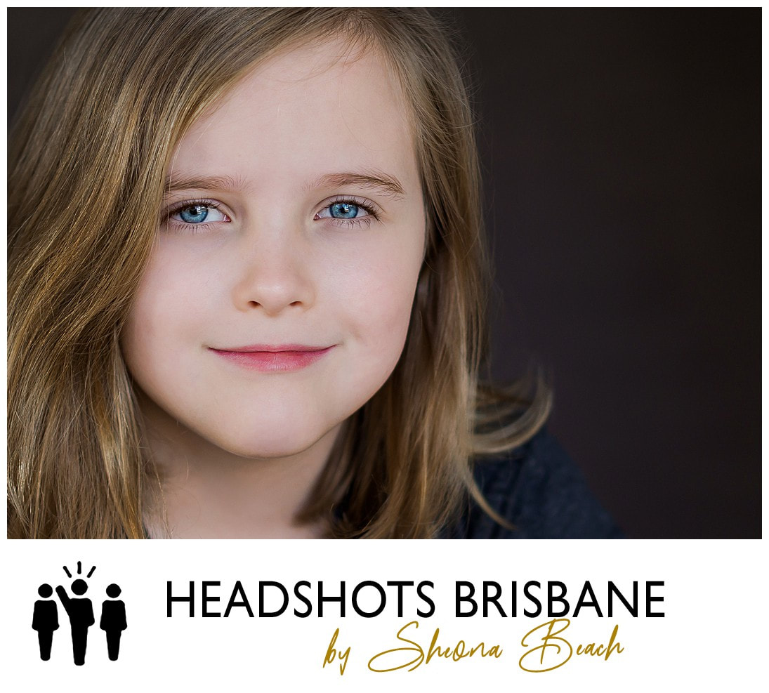 Photographer for child actor headshots in Brisbane