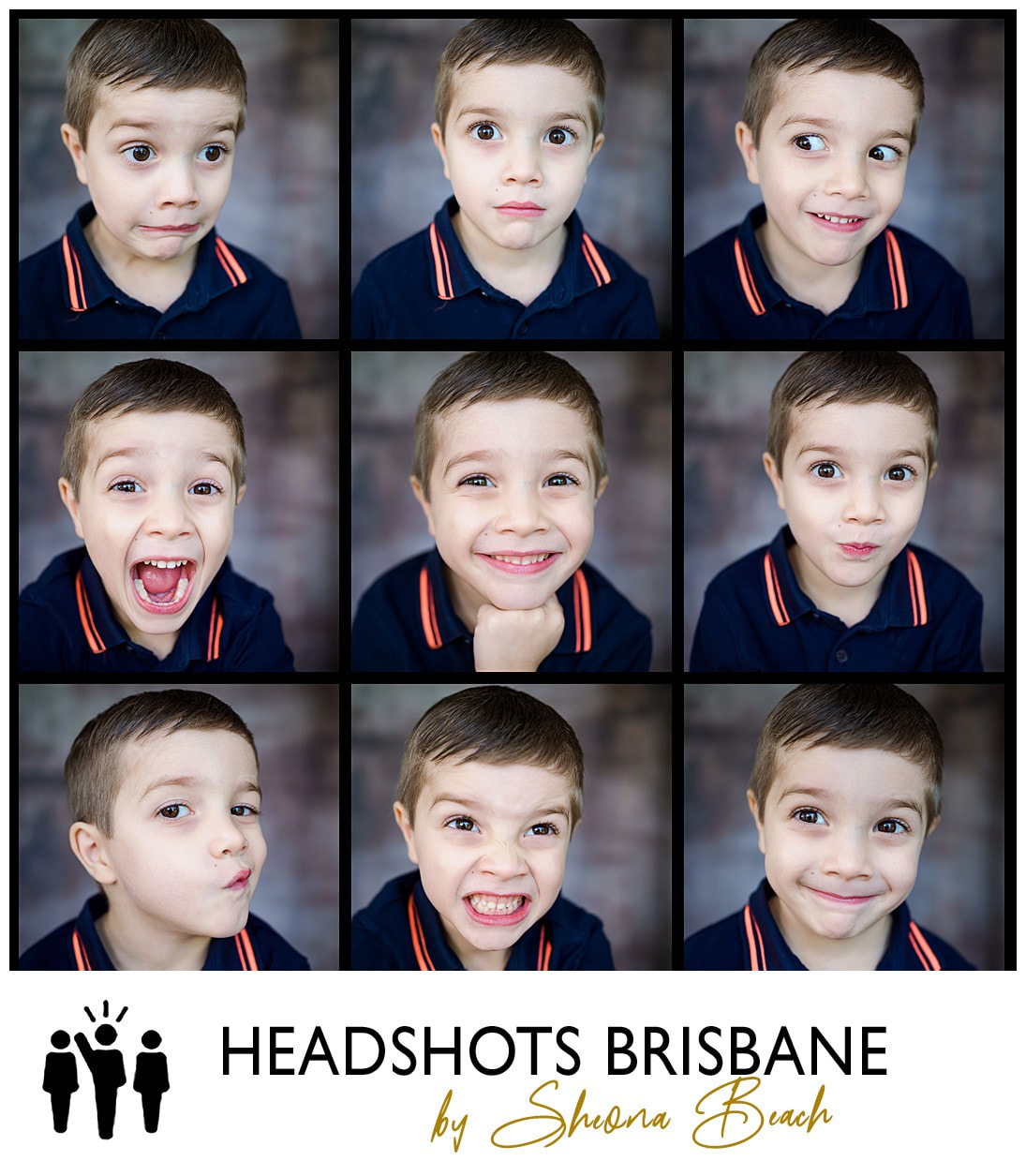 Brisbane Child Actor Headshot Photograph