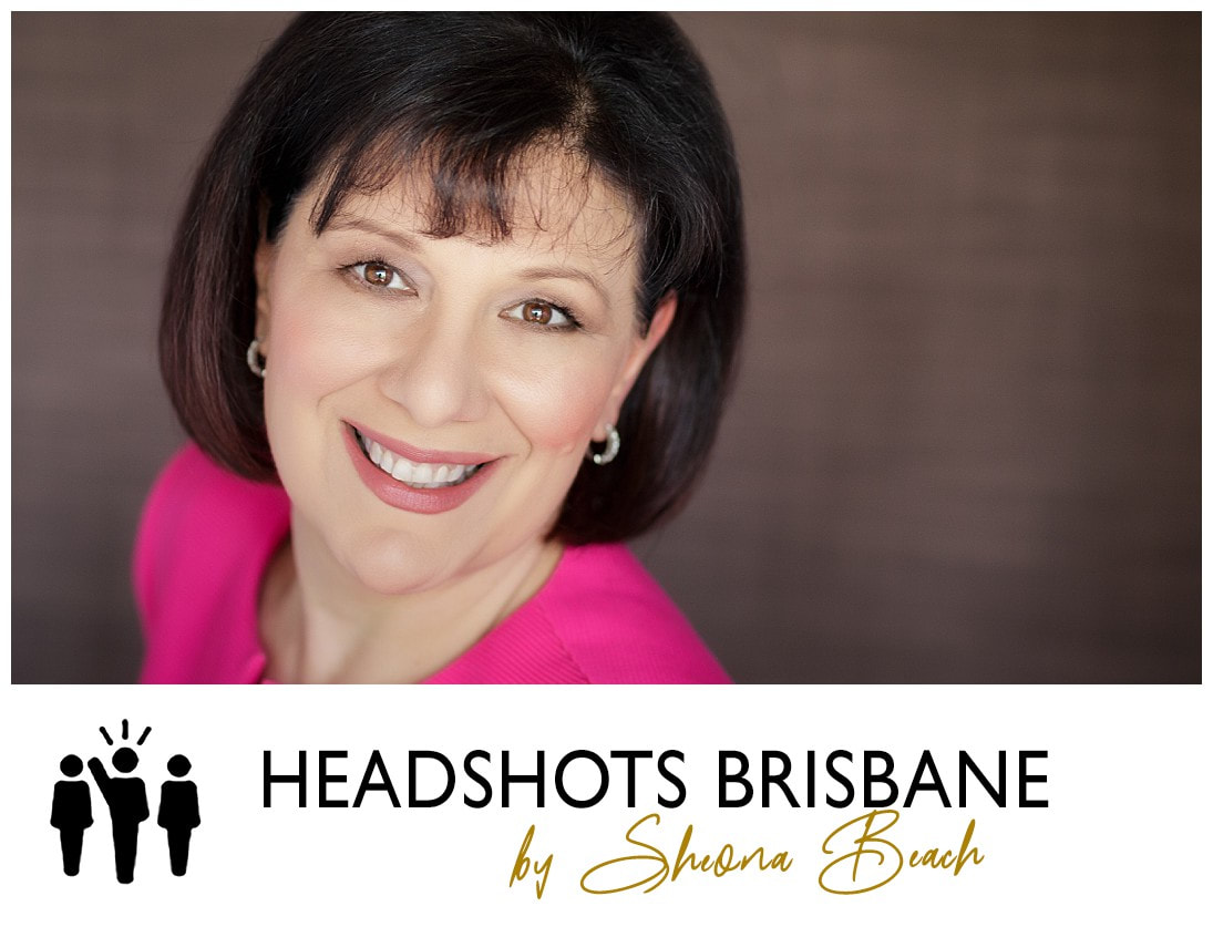 Professional female headshot in Brisbane for a website
