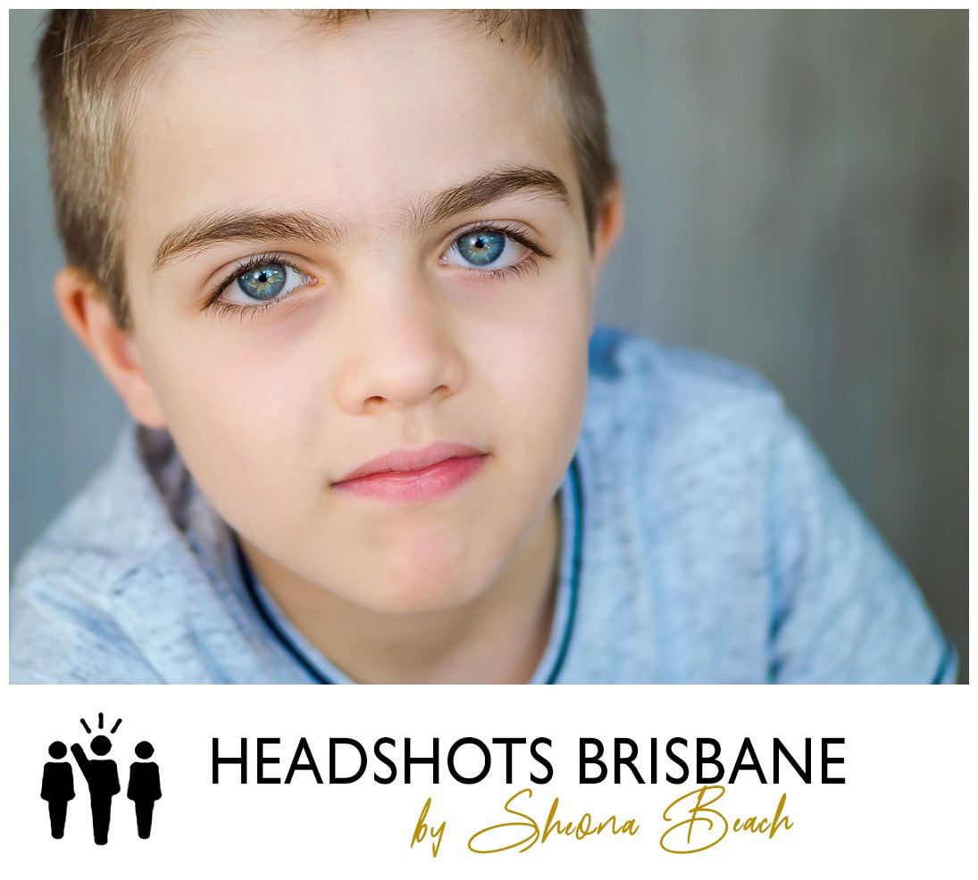 Professional child actor photographer in Brisbane