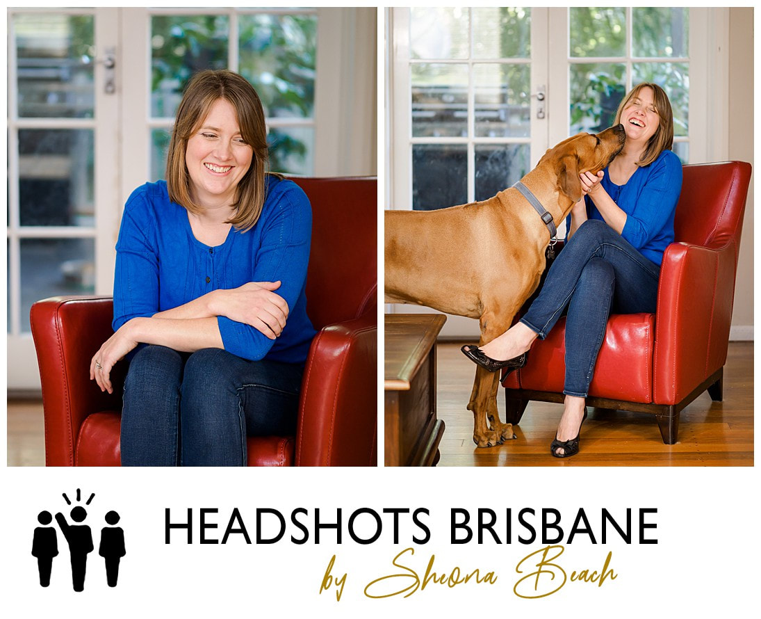 Headshots and portrait of female pianist by Brisbane photographer